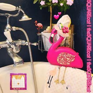 🦩 Francine the Fabulous FLAMINGO 💕 kitsch Purse!
